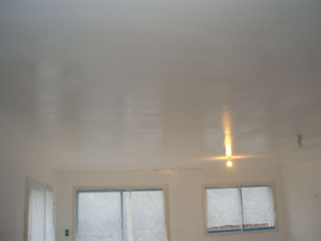 Peinture Blanc Brillant Mur Et Plafond repeindre un plafond satiné - 18 messages