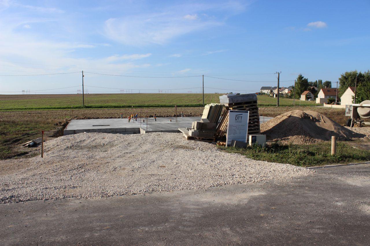 Coulage des fondations vide sanitaire elevation vs loiret for Fondation vide sanitaire