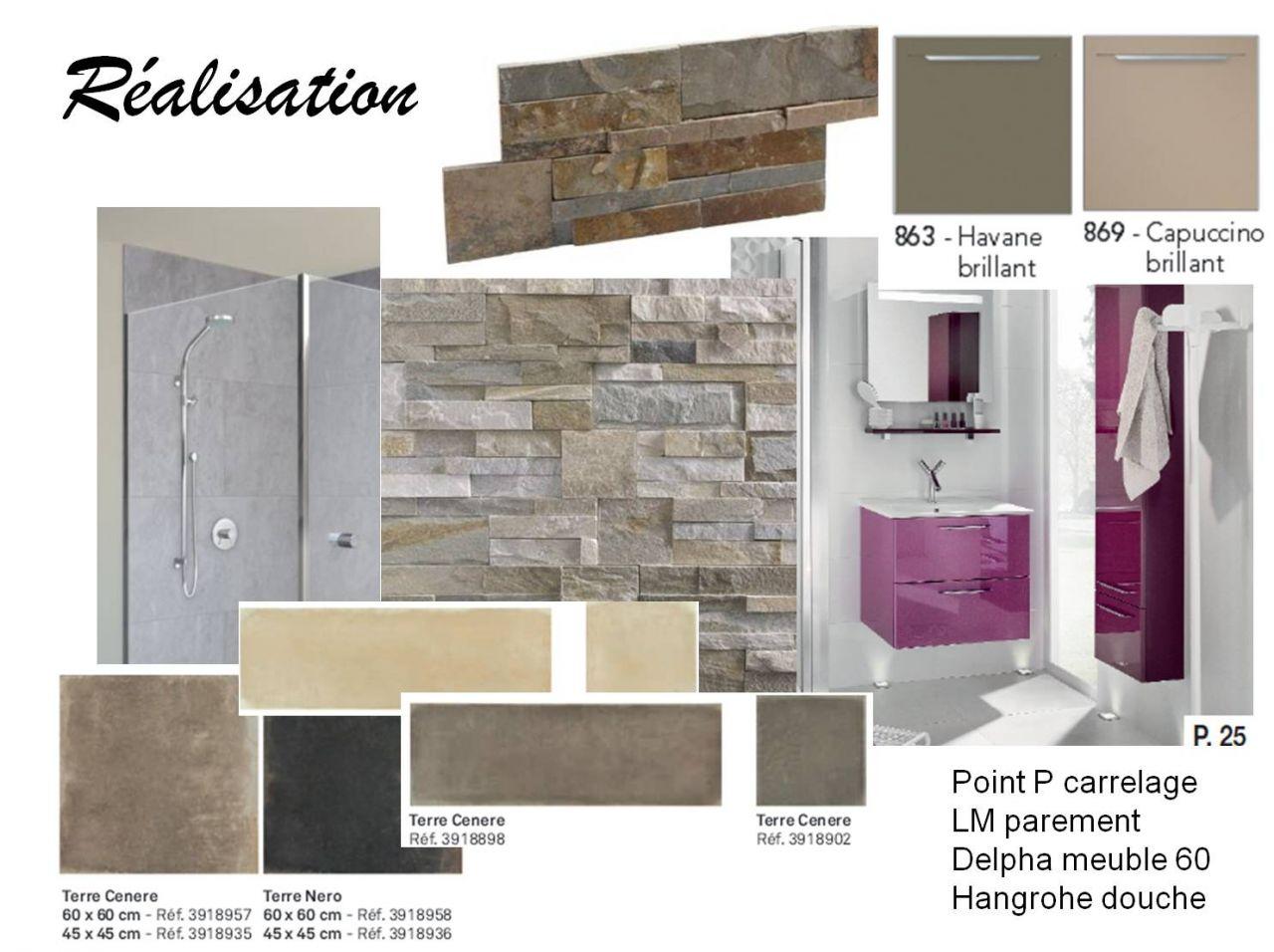 Les matériaux pour la salle de bain