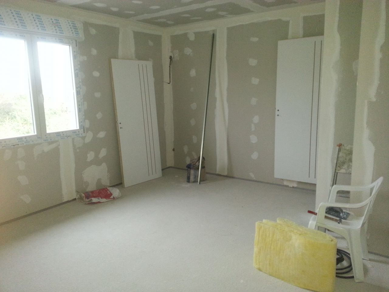 notre chambre.... 20M² ça fait pas mal