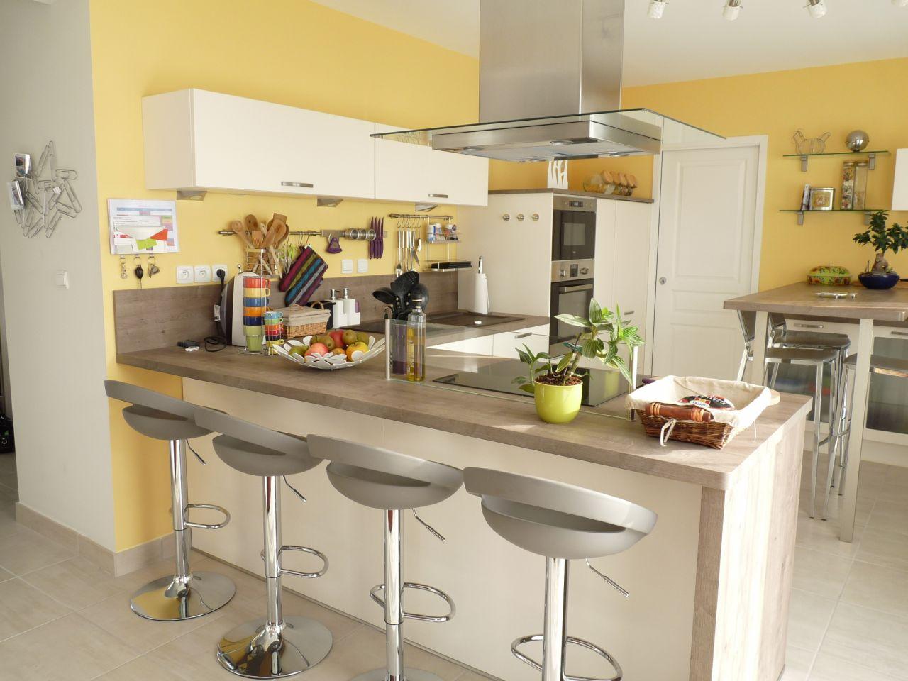 Photos de vos cuisines groupes - Ixina plan de travail ...