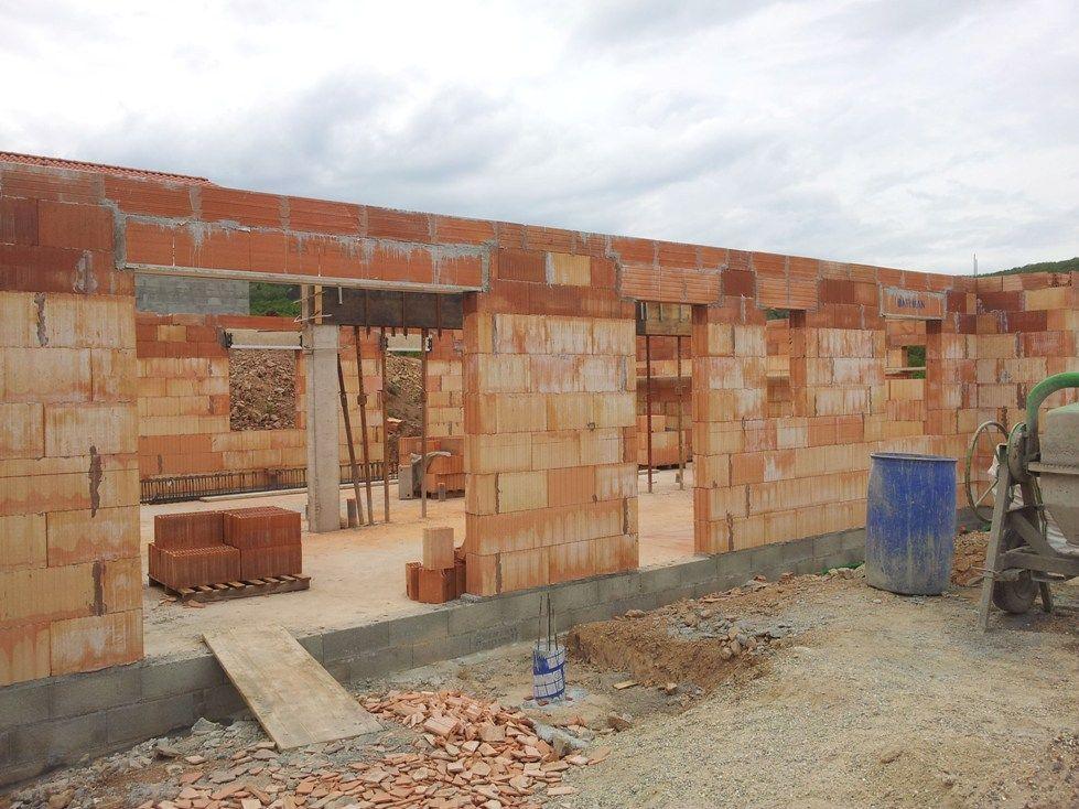 Elévation des murs (RDC)