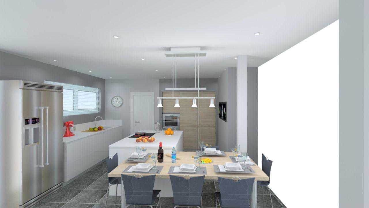 Les projets implantation de vos cuisines 8700 messages page 402 - Plan de travail 1m de large ...
