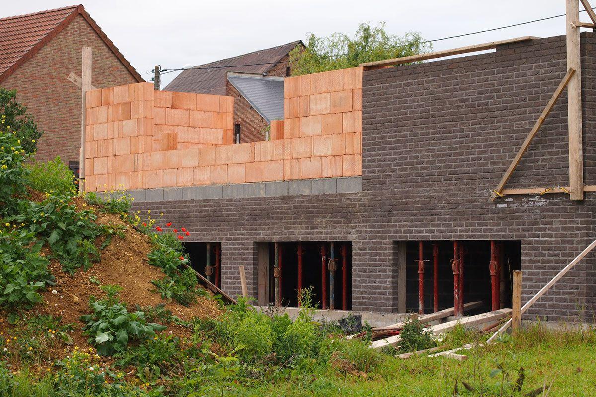 choix des fa ences et carrelage l vation du rdc briques alv olaires nord. Black Bedroom Furniture Sets. Home Design Ideas
