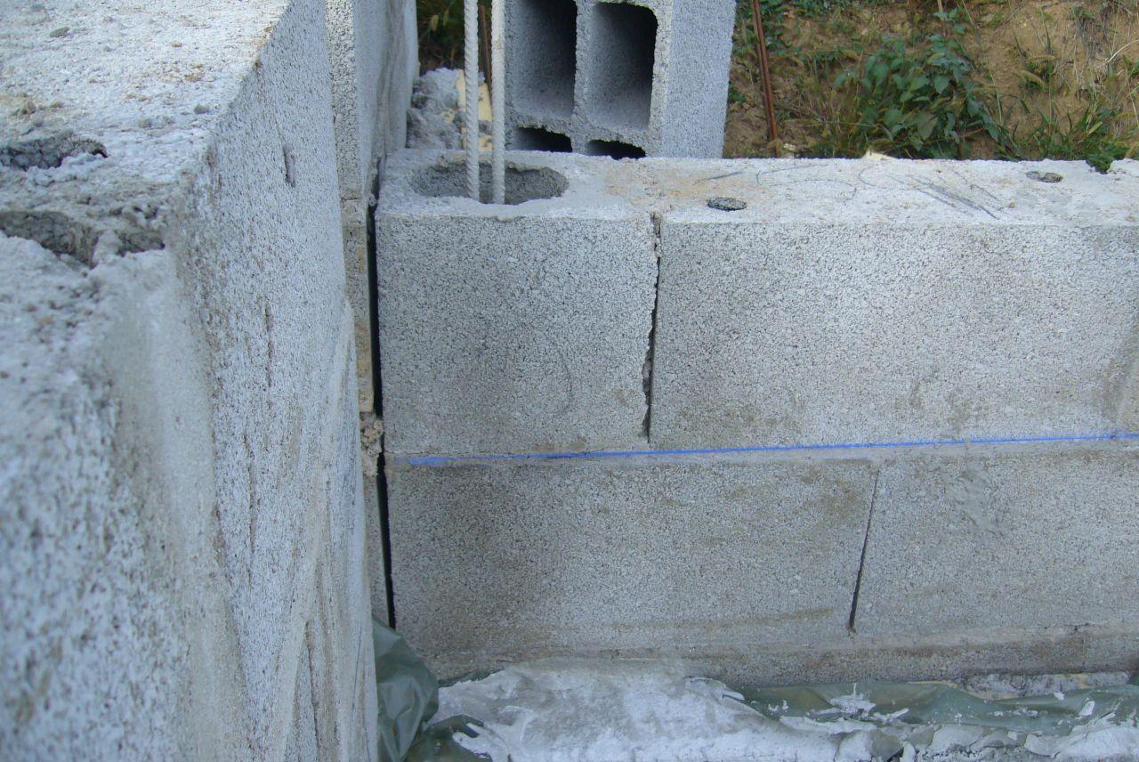 Notre maison en pays beaujolais rhone - Joint de dilatation mur ...