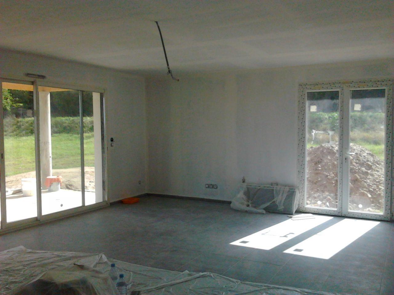 peintures les sous couches s jour salon quelle couleur sur quel mur fa ade prb blanc de. Black Bedroom Furniture Sets. Home Design Ideas