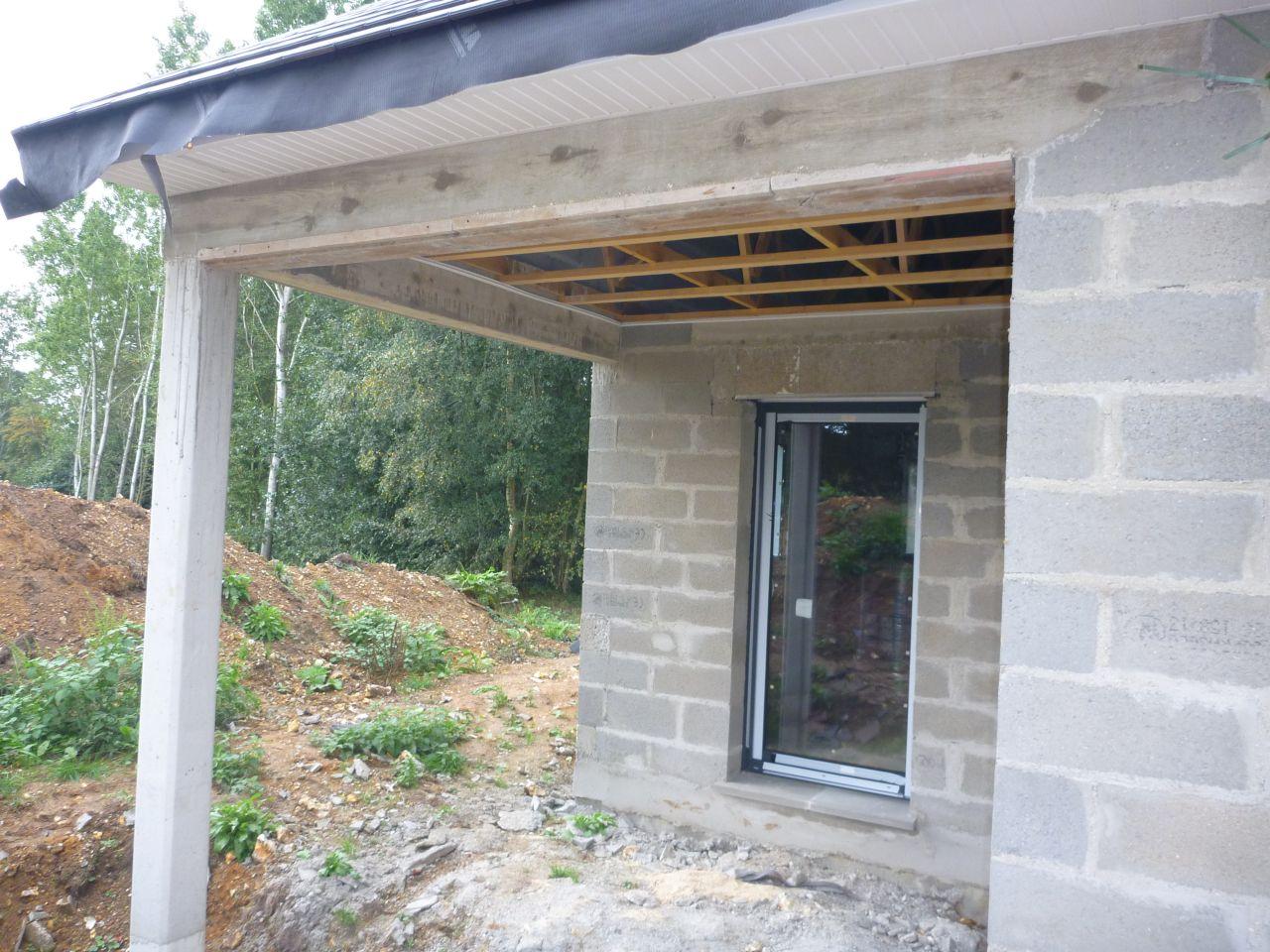 Habillage des d bords de toitures et sous face de terrasse for Lambris bois exterieur sous toiture