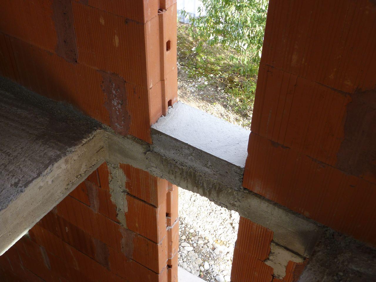 Hourdis polystyr ne appuis de fen tres en b ton et for Appui de fenetre en beton