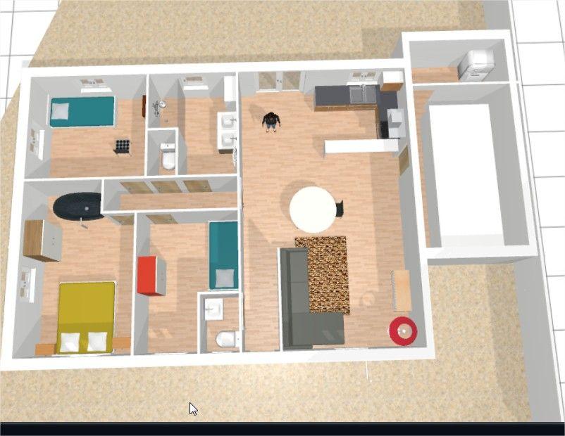 Avis sur un plan plain pied sur terrain triangulaire 47 for Comment trouver des plans de maison