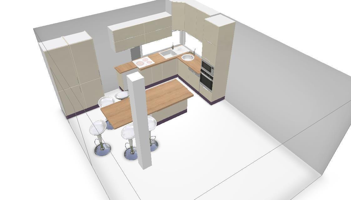 cuisine ouverte sur salon sans poign es a finaliser 12 messages. Black Bedroom Furniture Sets. Home Design Ideas