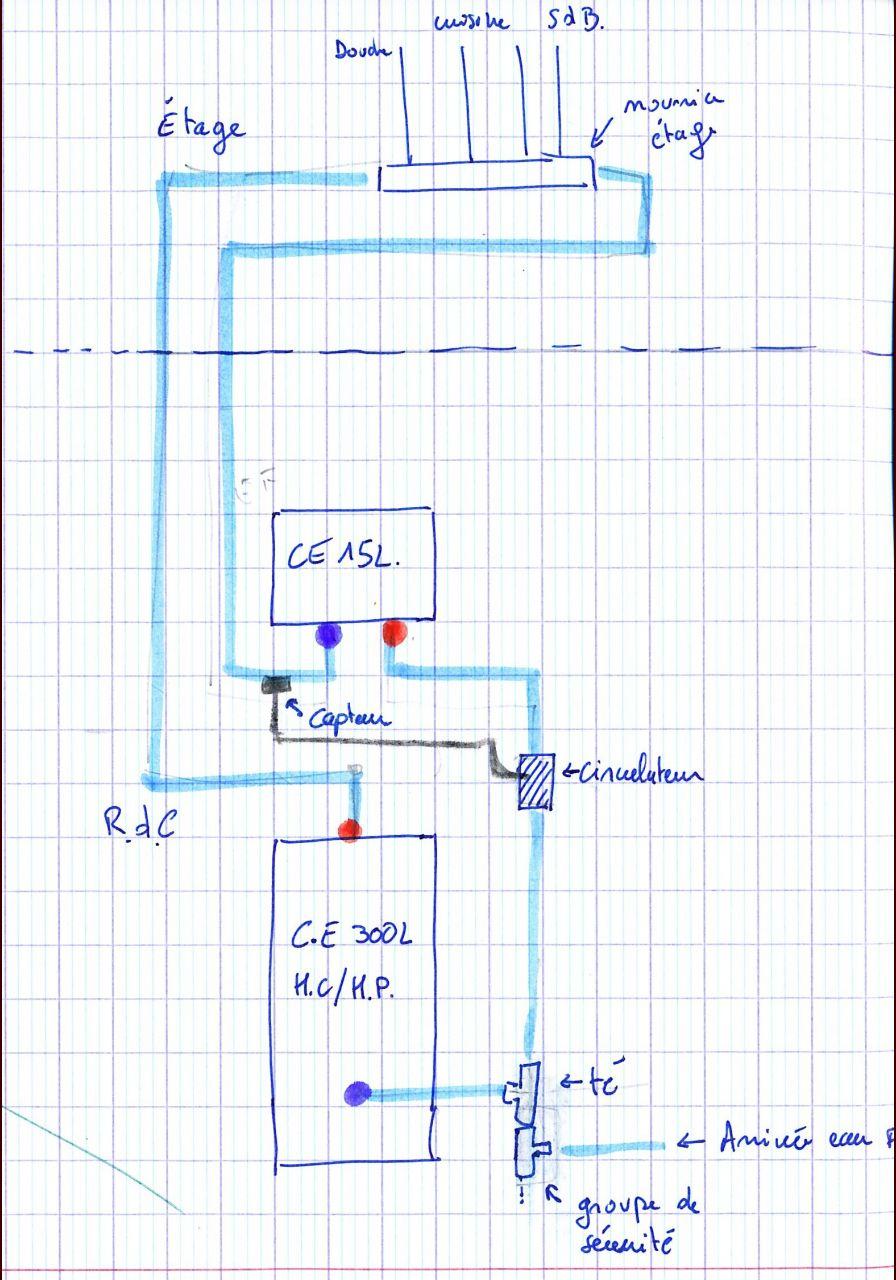 fonctionnement boucle d 39 eau chaude sanitaire 9 messages. Black Bedroom Furniture Sets. Home Design Ideas