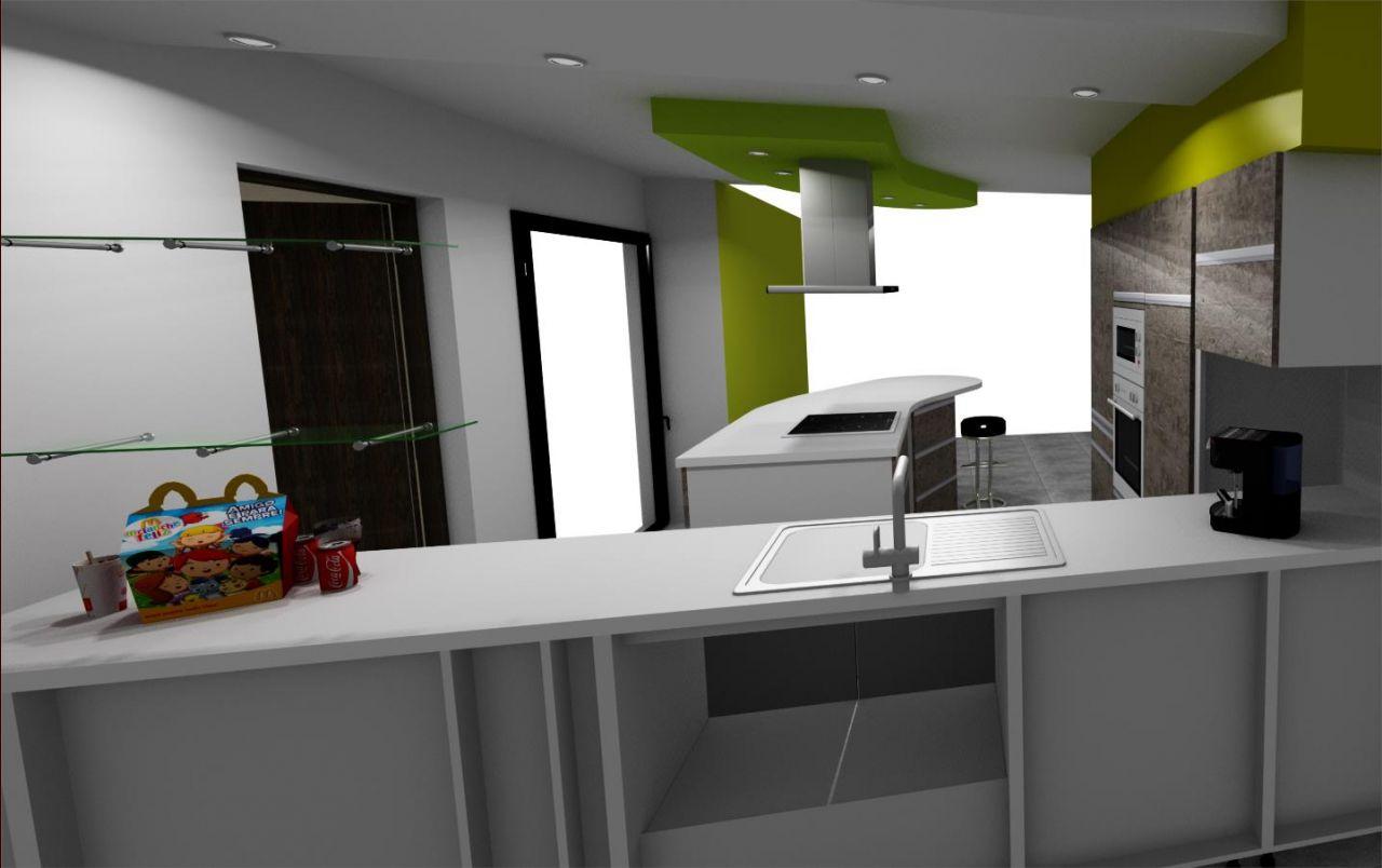 Le projet de cuisine seuils de fen tres baies pose for Projet de cuisine