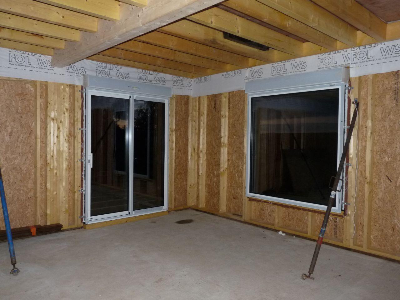 baie et fenêtre fixe