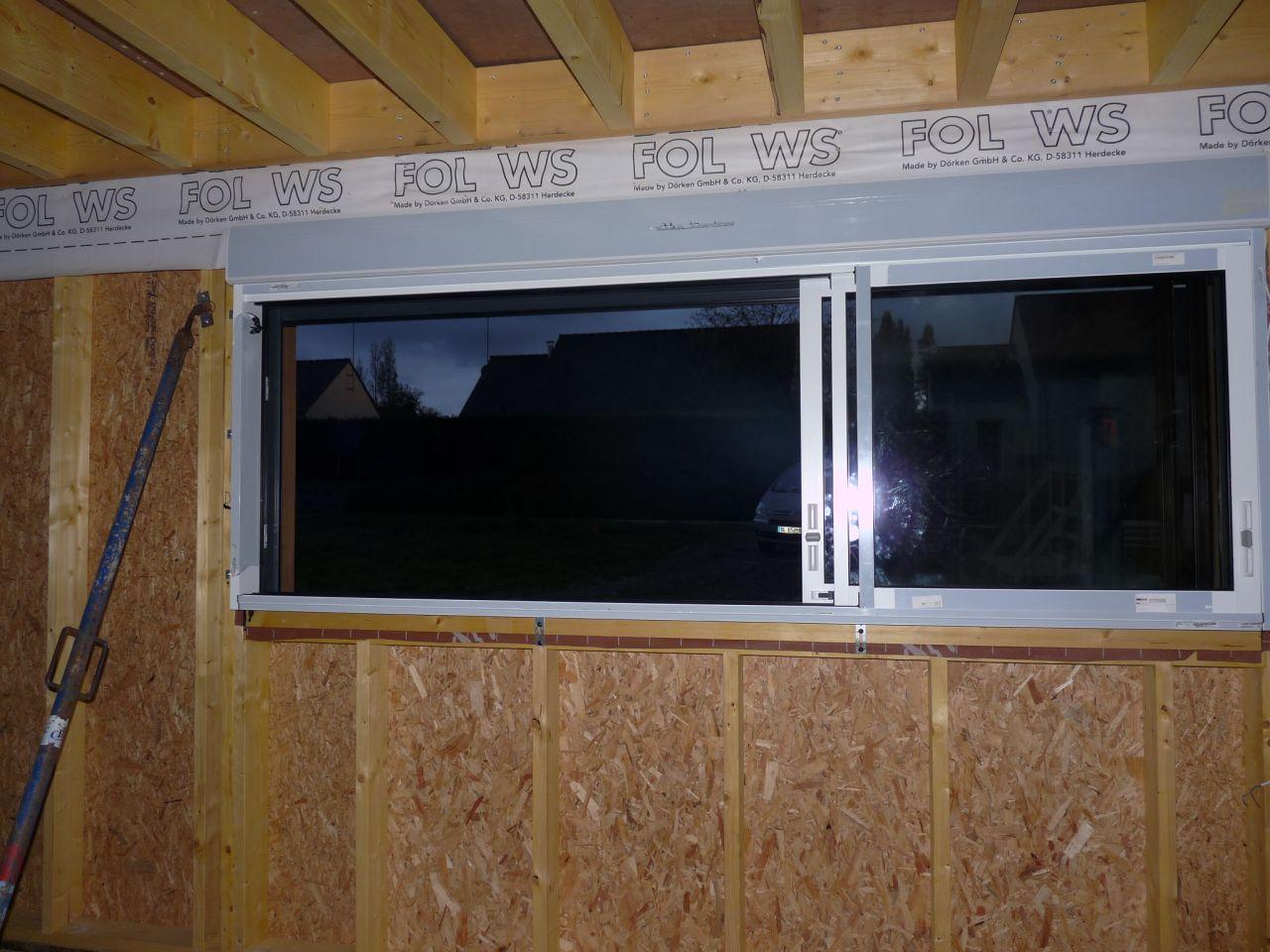 Fenêtre face sud 3 vantaux (2/3 1/3)