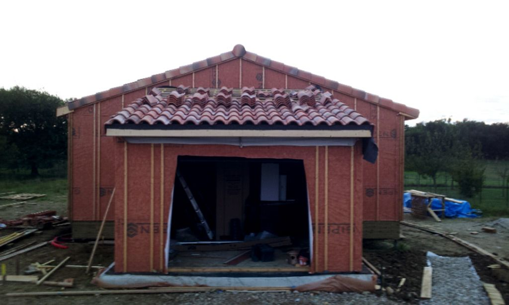 Couverture bardage garage toulouse haute garonne for Garage matre toulouse