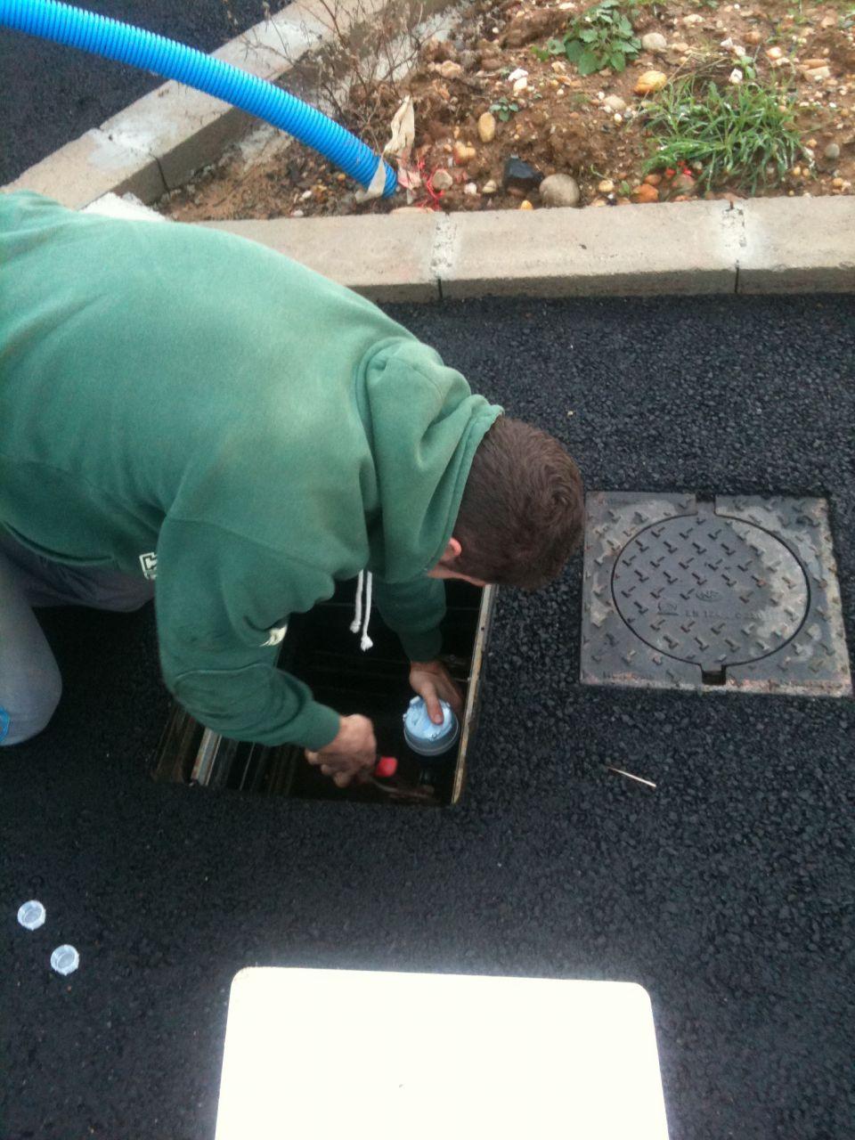 Installation du compteur d'eau
