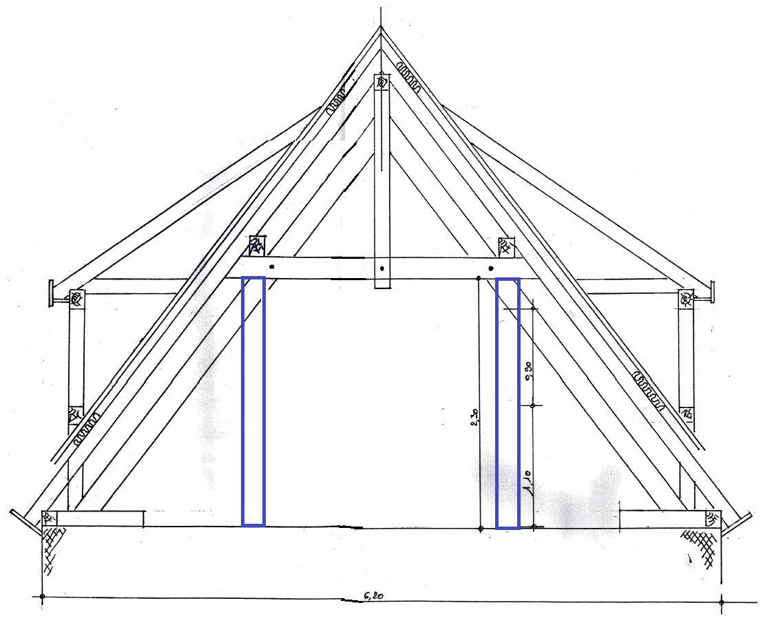 modification charpente am nagement des combles 8 messages. Black Bedroom Furniture Sets. Home Design Ideas