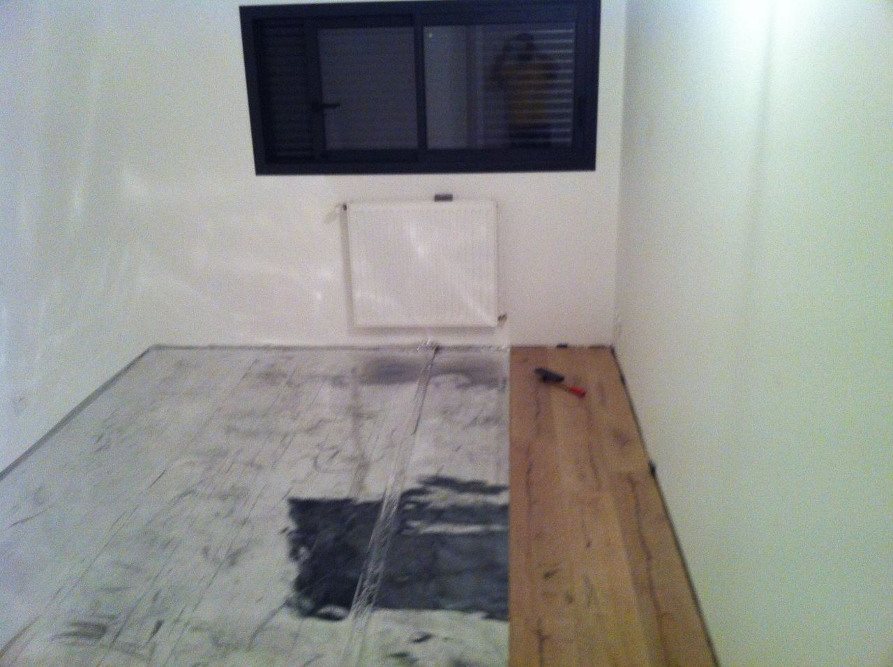 pose parquet l escalier b ton cire garde corps. Black Bedroom Furniture Sets. Home Design Ideas