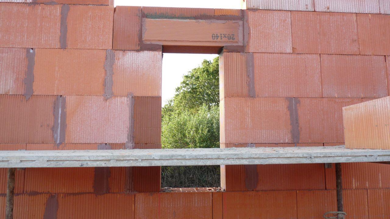 Elévation des murs - erreur fenêtre salle d'eau reprise