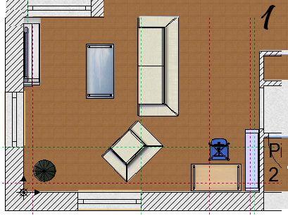 am nagement salon dans s jour en angle de 30m 19 messages. Black Bedroom Furniture Sets. Home Design Ideas