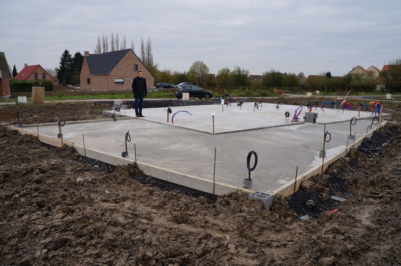 Terrasse avec réservations pour spots