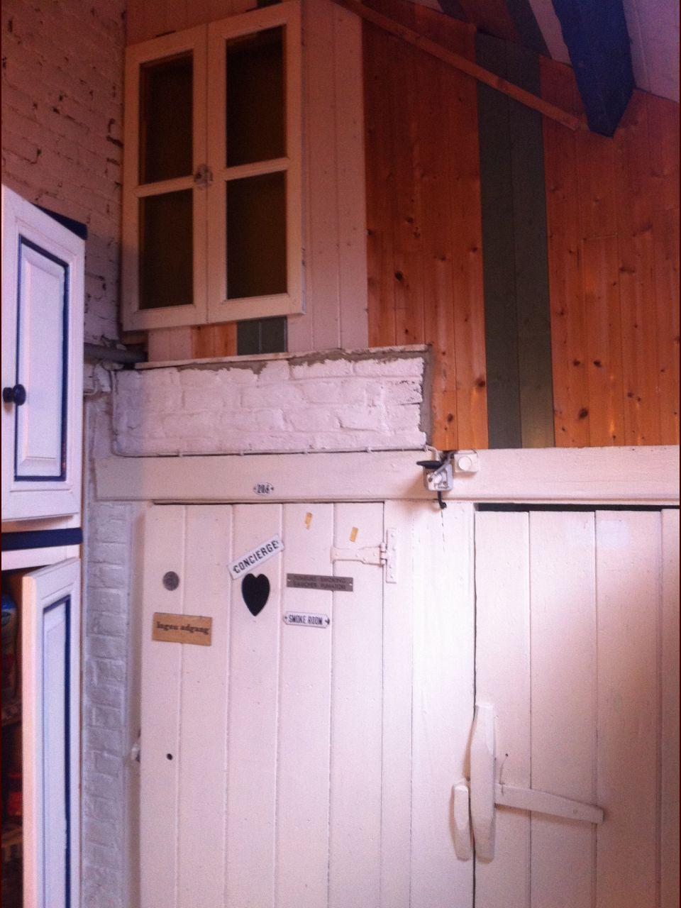 La maison avant le déménagement de la précédente propriétaire