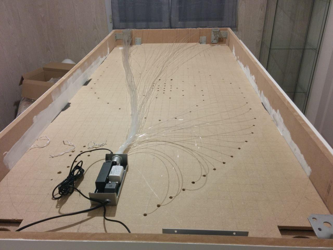 Photos de faux plafond avec lumi re indirecte groupes for Plafond en fibre optique