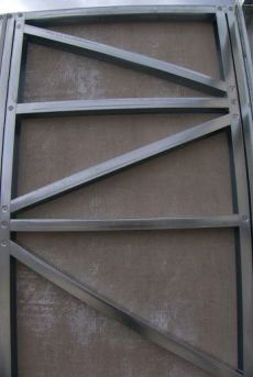 Visite d'une maison en ossature métallique légère