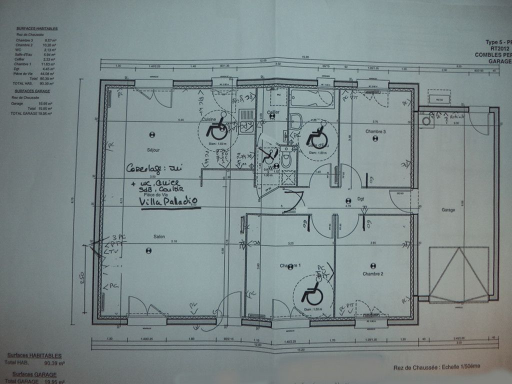 plan de maison le masson