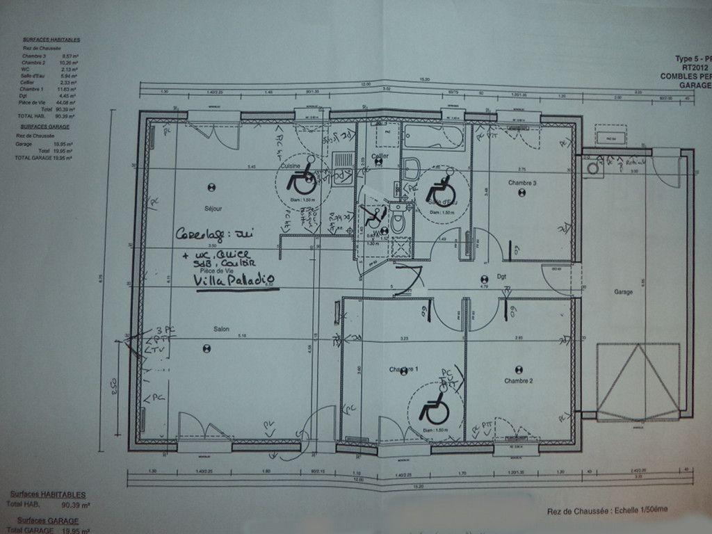 Notre premi re maison plain pied type 5 avec garage le for Modele maison le masson