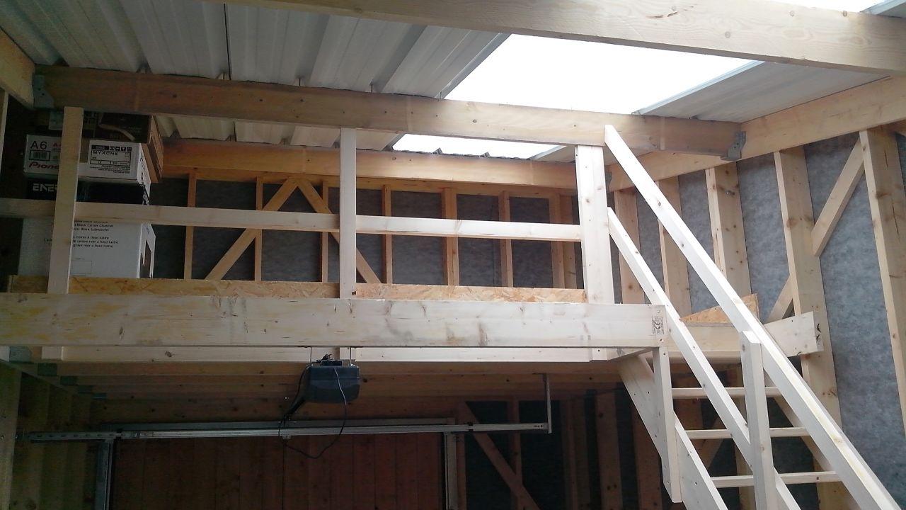 Maison bois passive eulogia treillieres loire atlantique messages n 120 - Construire mezzanine garage ...