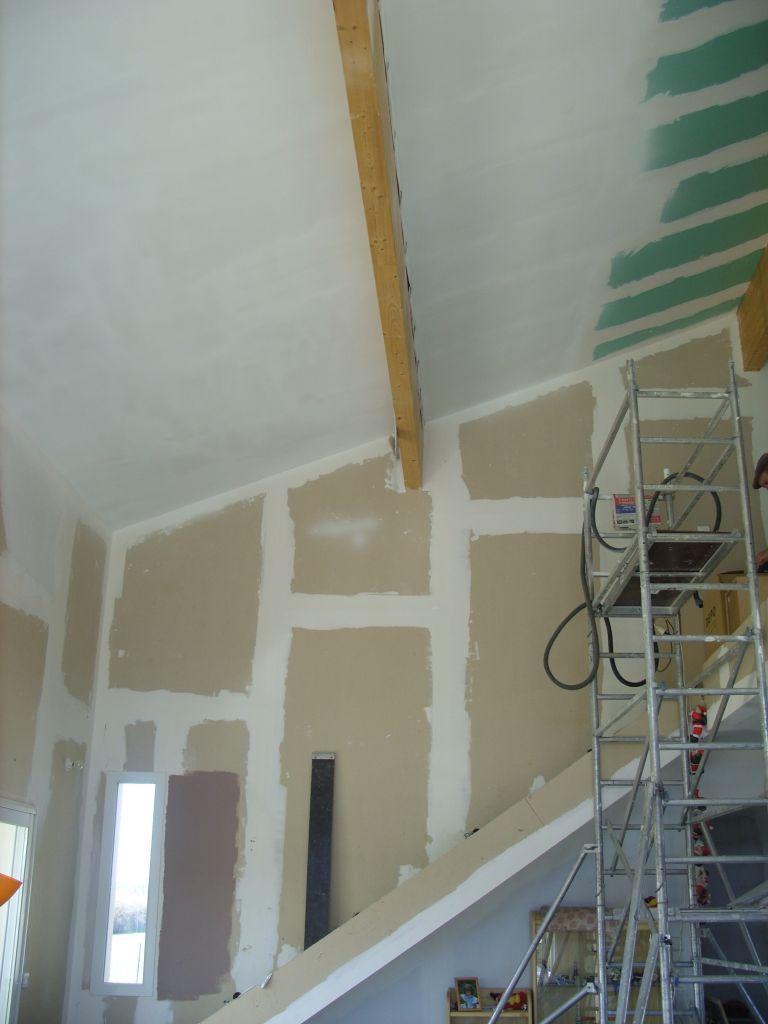peinture du plafond que c 39 est haut l 39 escalier se pare de couleurs fontenilles haute. Black Bedroom Furniture Sets. Home Design Ideas
