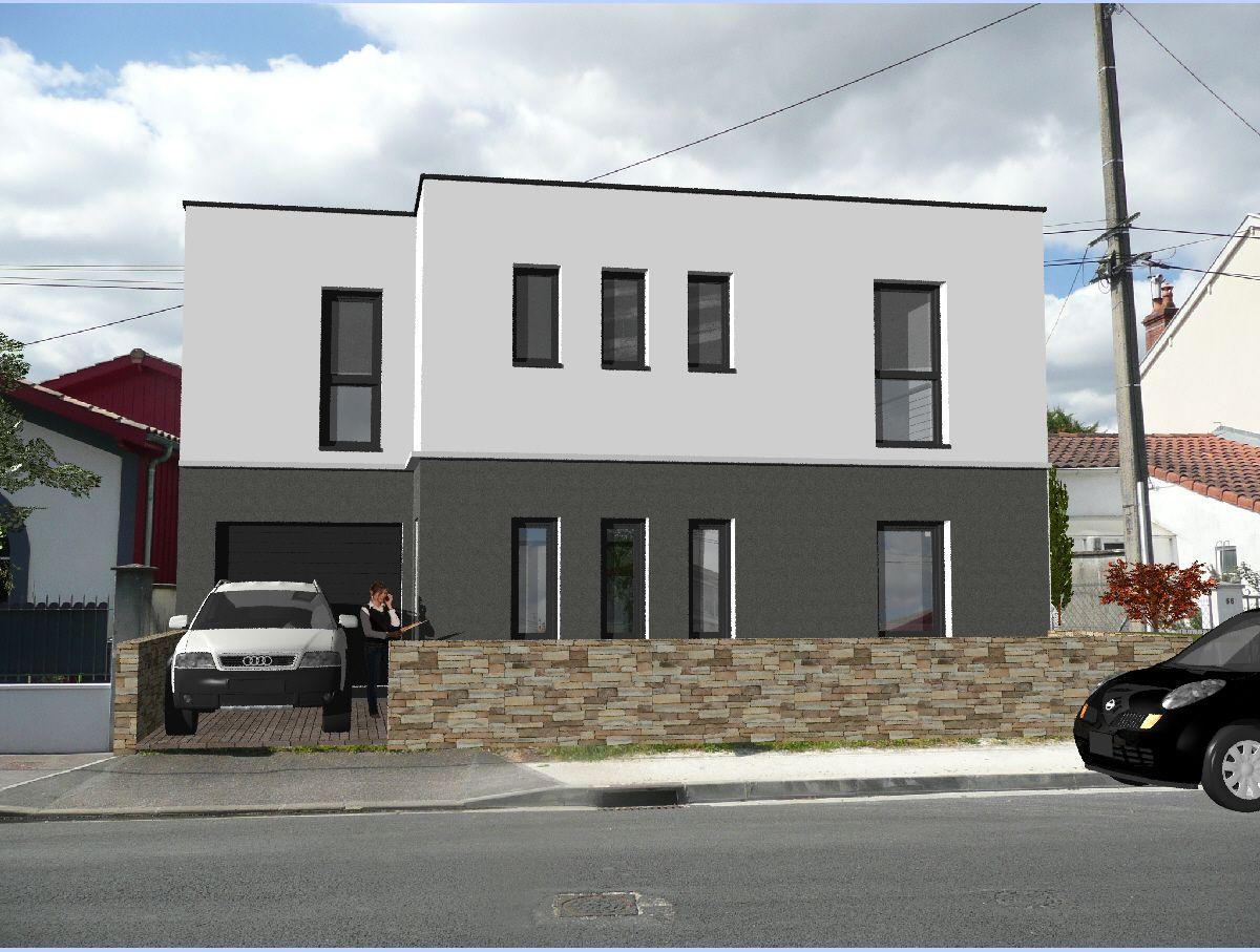 Avis maison moderne r 1 toit plat 130m2 60 messages for Maison 130m2
