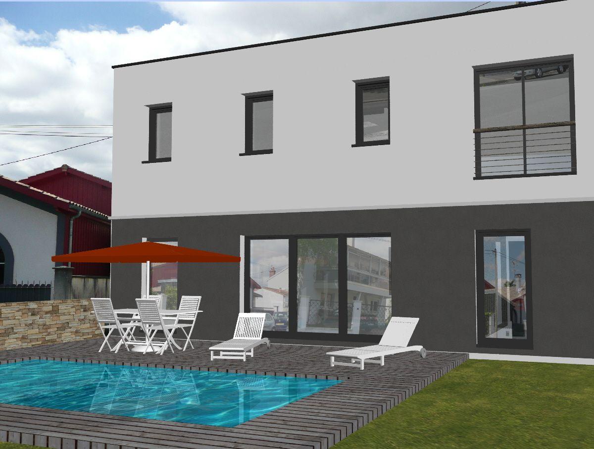 Avis maison moderne r 1 toit plat 130m2 60 messages - Maison de 130m2 ...