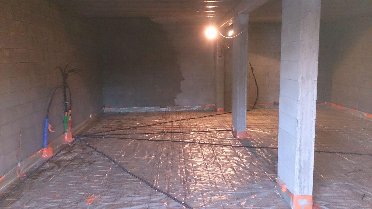r seaux dalle sous sol el vation des murs vire calvados. Black Bedroom Furniture Sets. Home Design Ideas