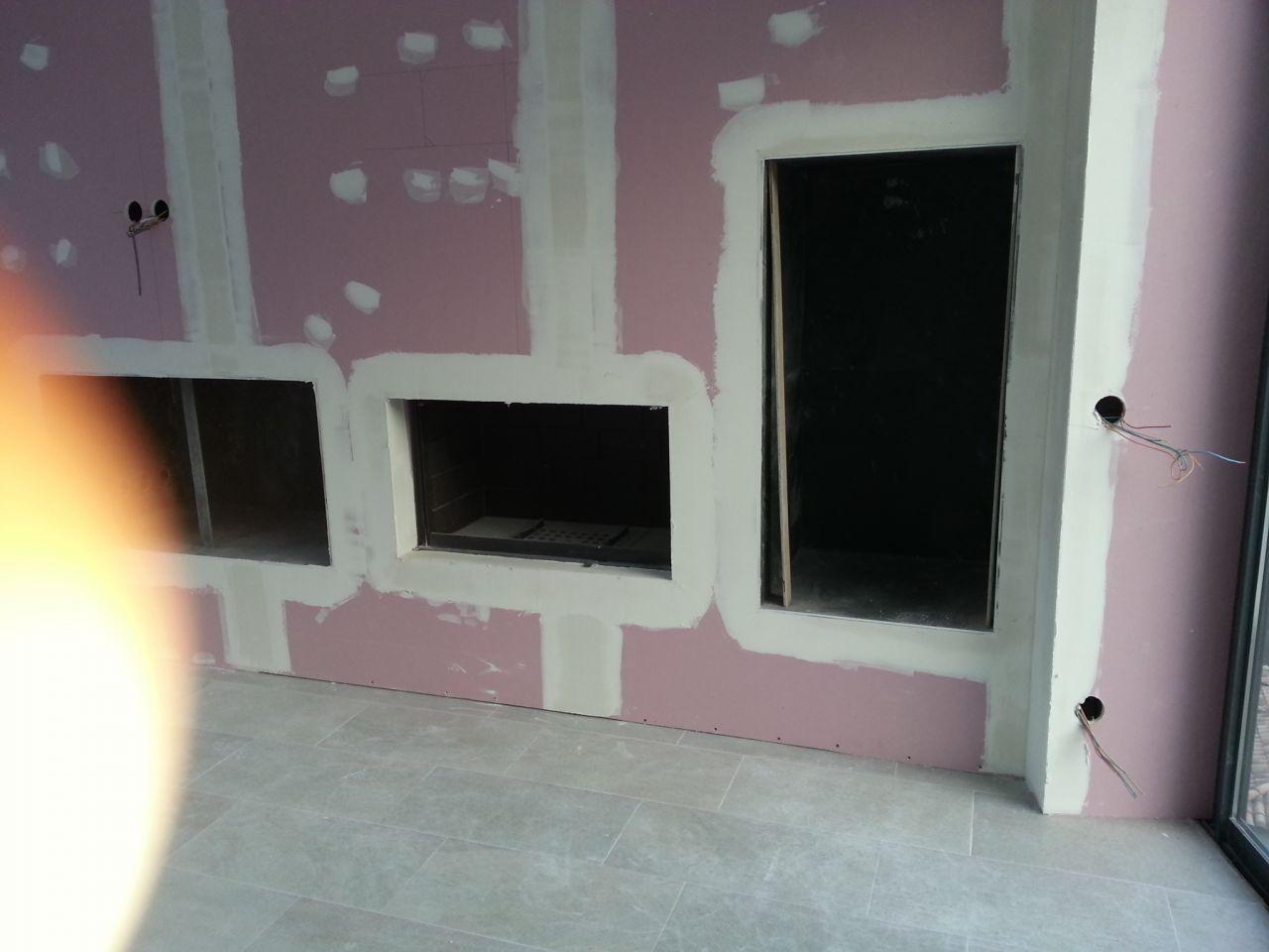 Habillage cheminee interieur accueil design et mobilier for Habillage interieur