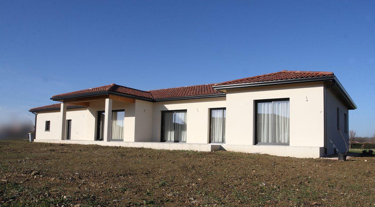 Facade sud-ouest - Haute Garonne (31) - janvier 2014