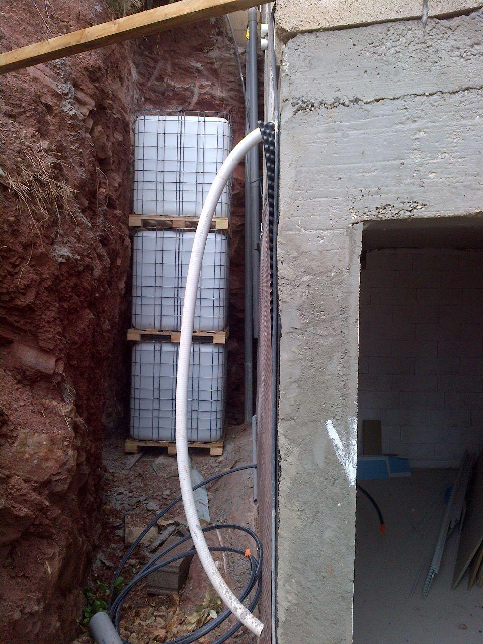 Cuves de récupération d\\\'eau de pluie
