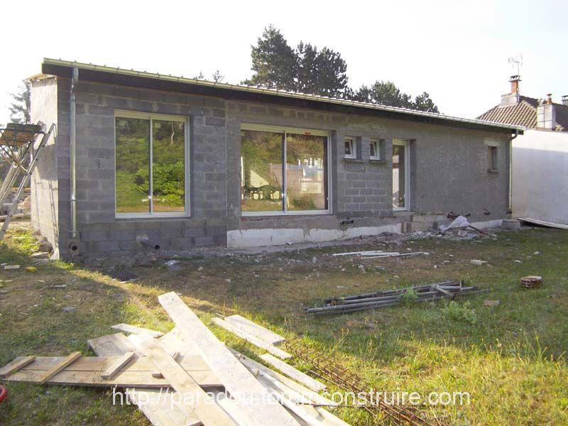 1ere phase menuiserie façade AR