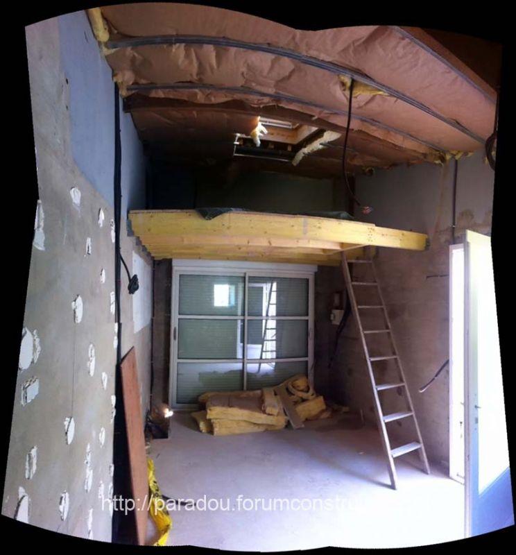 Photo mezzanine du studio mezzanine balcon pas de calais 62 - Mezzanine studio ...