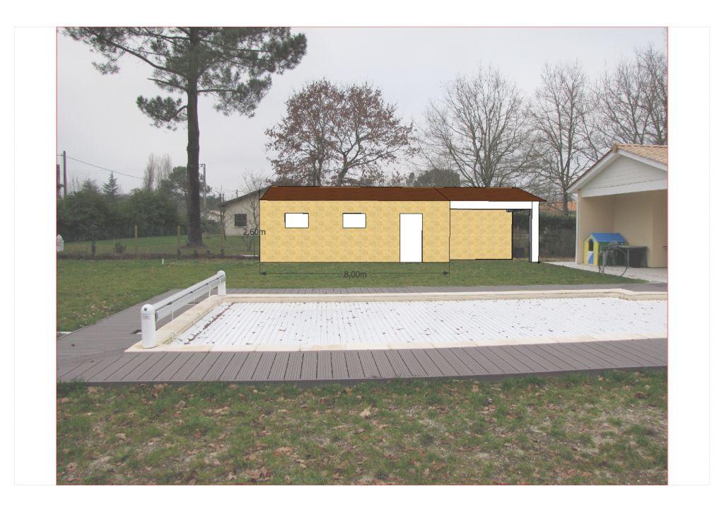 Construction garage annexe gironde for Annexe garage