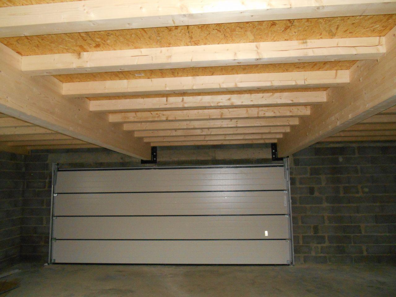 L 39 esth tique tique elle se h te avec lenteur solivage sur garage - Faire un plancher bois dans un garage ...