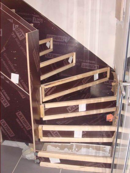 Escalier cr maill re choix des adjuvants pour b ton - Escalier cremaillere beton ...