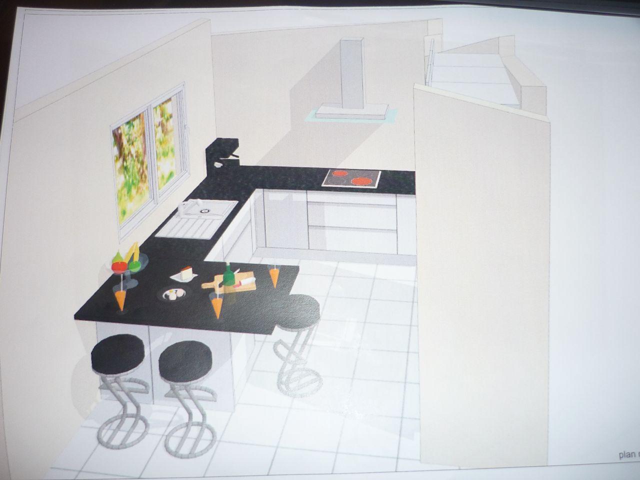 implantation cuisine