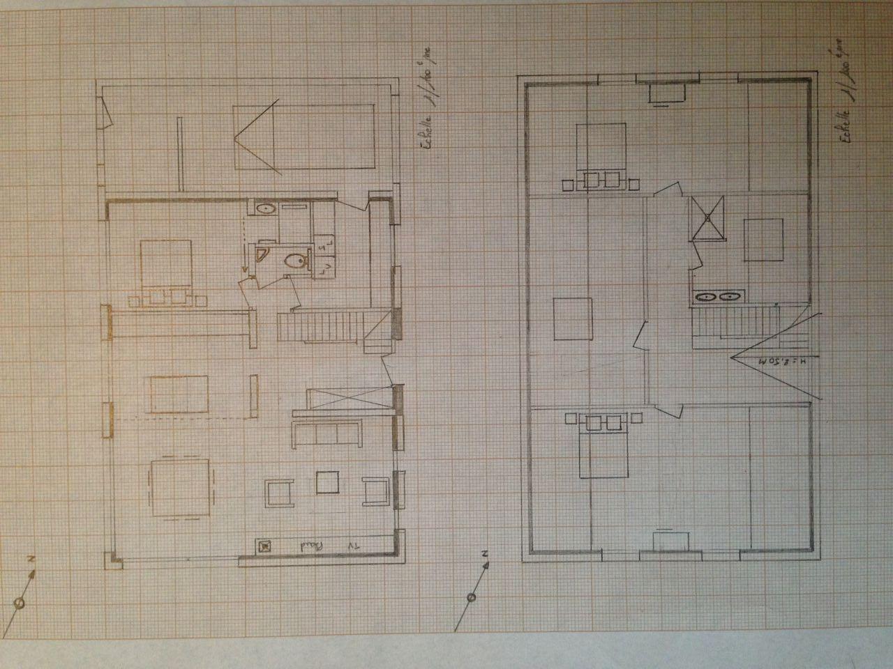 Plan RDC et étage
