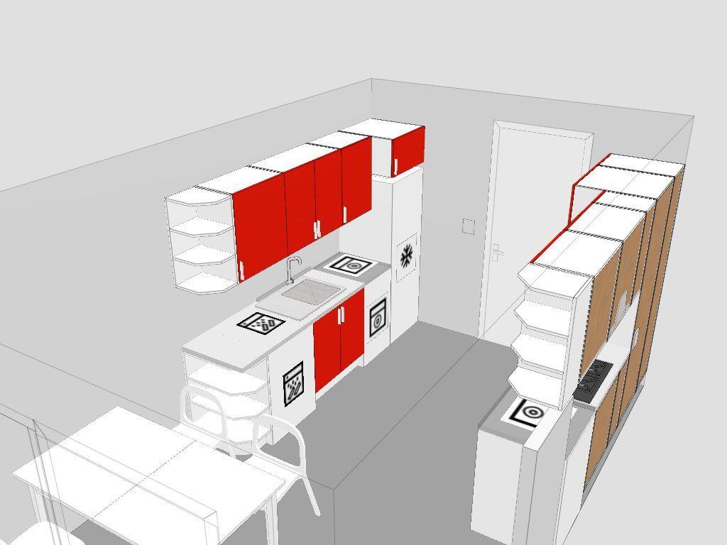 implantation cuisine parallele 5 messages. Black Bedroom Furniture Sets. Home Design Ideas