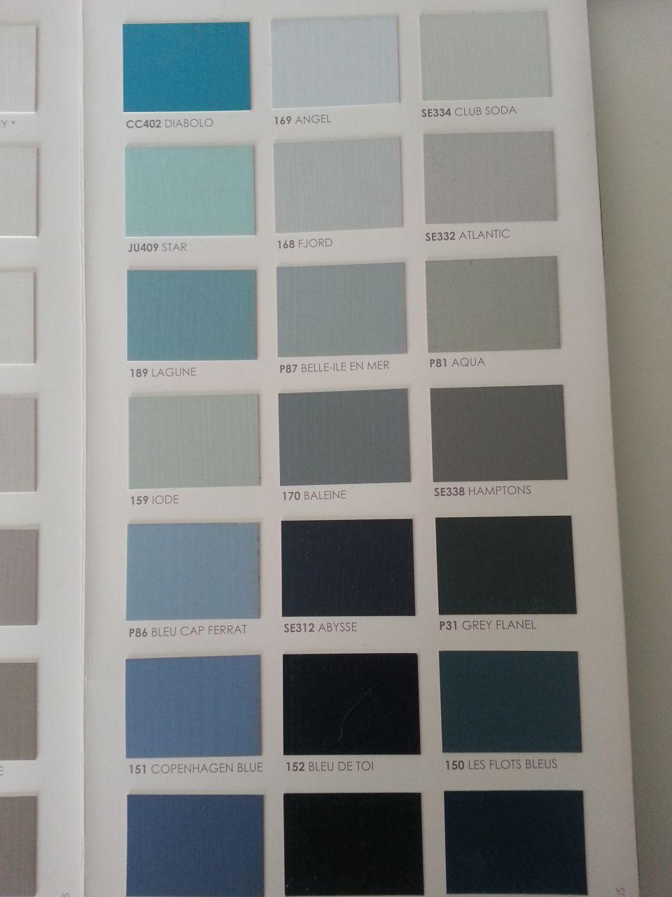 Encore quelques choix d d co encore quelques for Nuancier peinture gris perle
