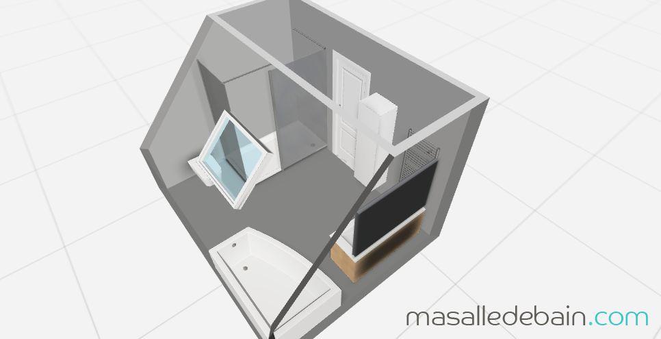 salle de bains mansard e 7 messages. Black Bedroom Furniture Sets. Home Design Ideas