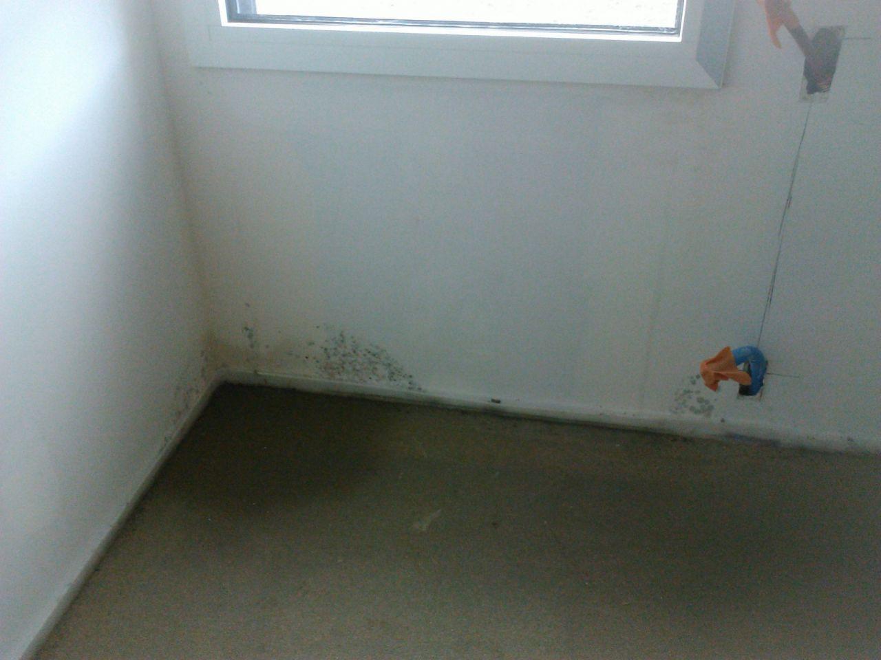 Finition placo terrassement mise en place du chauffage for Infiltration eau garage