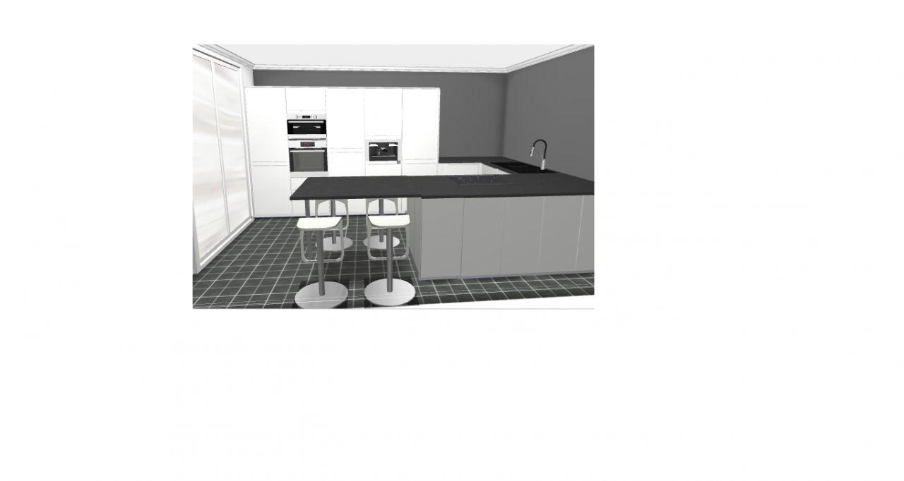 Les projets implantation de vos cuisines 8859 messages for Simulation implantation cuisine